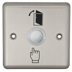 Nút nhấn mở cửa ABK-801B vuông, inox